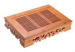 Yeme Tasteful Bamboo Gongfu Tea Table Serving Tray  - YRYS