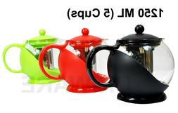 A10044 Tea Pot/Coffee Pot with Removable Stainless Steel Fil