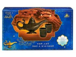 Disney Aladdin Tea Set Genie Magic Lamp 1 Teapot And 2 Tea C