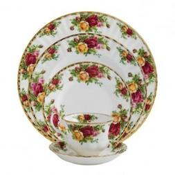 Royal Albert China Old Country Roses 5-Piece Place Setting