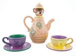 Disney Alice in Wonderland Dormouse Mad Tea Party Teapot Cup