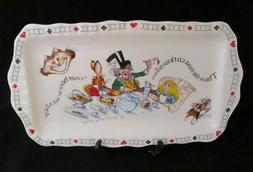 Alice in Wonderland Mad Hatter's Teaparty Rectangular Tray b