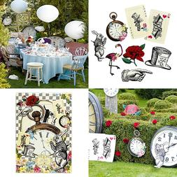 Alice In Wonderland Party Supplies Prop Set Great For Mad Ha