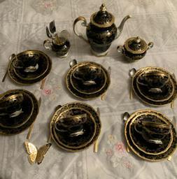 Antique Vintage Weimar Katharina Tea/ Coffee 23Piece Set. Un
