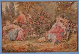 Authentic Italian Tapestry Two Couples Near Lake - TP502 30""