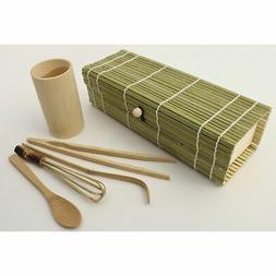 Zoie + Chloe 100% Natural Bamboo Japanese Matcha Tea Gift Se