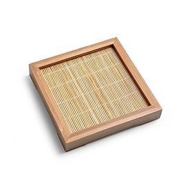 Bamboo Square Coaster China Traditional Tea Culture