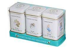 New English Teas Beatrix Potter 3 Mini Tin Set 75g