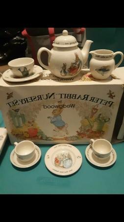 Wedgwood Beatrix Potter Peter Rabbit  Children's 10 piece te