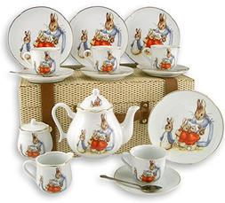 Beatrix Potter Peter Rabbit Large Tea Set by Reutter Porcela