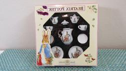 BEATRIX POTTER PETER RABBIT MINIATURE PORCELAIN TEA SET BY R
