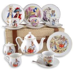 Beatrix Potter  Large Peter Rabbit Tea Set in Case