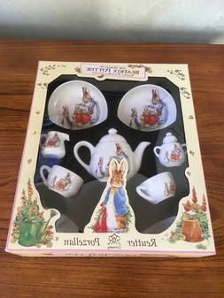 Beatrix Potter Reutter Germany Porcelain Children's Tea Se