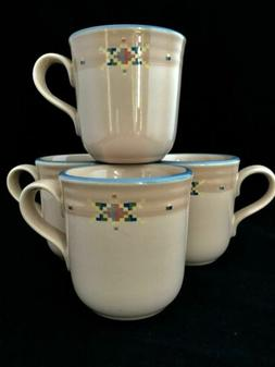 Beautiful Set of 8 Noritake ARIZONA 8677 Coffee Mugs/Tea Cup