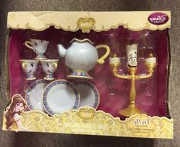 Disney Store Beauty & The Beast Be Our Guest Singing Tea Car