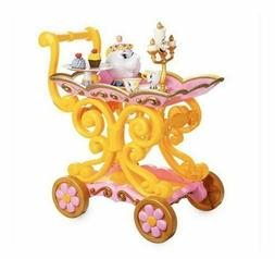 Disney Beauty and the Beast Be Our Guest Singing Tea Cart Pl
