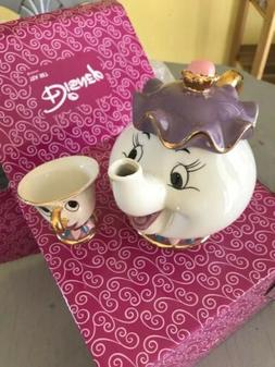 Beauty And The Beast Teapot Mug Mrs Potts Chip Tea Pot Cup S