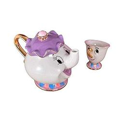 Ashland|Beauty And The Beast Mrs Potts Chip Tea Pot Cup One
