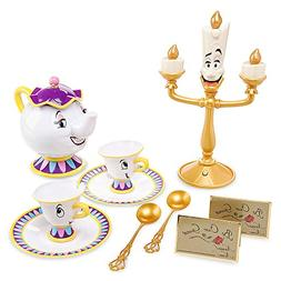 beauty beast singing tea set