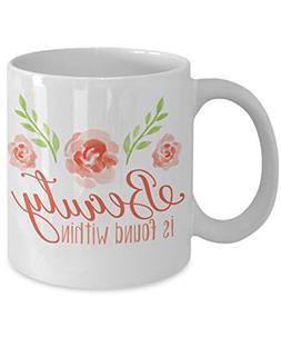 Beauty Mug - Beauty and the Beast Coffee Mug - 11 oz White C