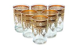 Moroccan Berber Gold Tea Glasses