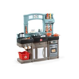 Step2 Best Chef's Play Kitchen with 25 Piece Accessory Play