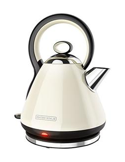 Black and Decker 7-Cup Stainless Steel Rapid Boil Cordless E