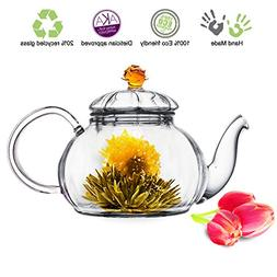 Glass Teapot No Drip Special Lead Free Glass