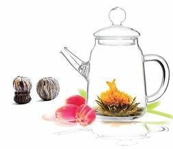 Blooming Teapot Duo KJ Tea Gift Set
