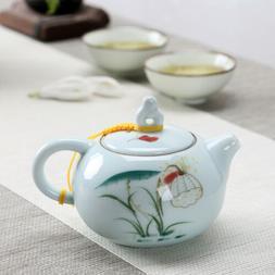 blue-and-white tea pot porcelain Chinese kungfu tea pots wit
