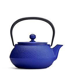 Pure Blue Hobnail Cast Iron Teapot by Teavana