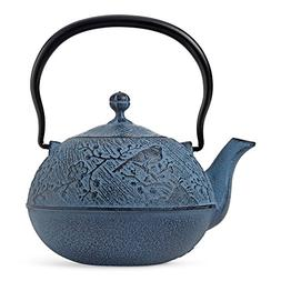 Blue Maromi Bird Cast Iron Teapot by Teavana