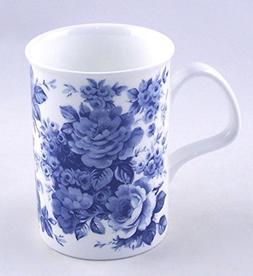 Roy Kirkham Blue Rose English Chintz Coffee or Tea Mug Fine