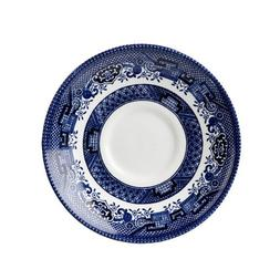 "Churchill Blue Willow Fine China Earthenware Tea Saucer 5.5"""
