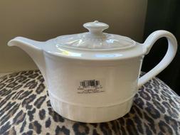 bone china colosseum whiteware teapot tea pot