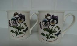 Portmeirion -Botanic Garden Breakfast Mug- Pansy- Coffee Tea