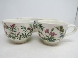 Portmeirion Botanic Garden Tea Cup   Set of 4 Made in Englan