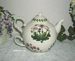 Portmeirion Botanic Garden Tea For One Teapot Set  - NEW in