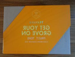 "Brand New Teavana ""Get Your Groove On"" Tea gift Set! 4 F"