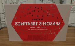Brand new sealed Teavana Season's Treatings Loose tea Gift s