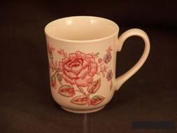 Johnson Bros. Rose Chintz Pink Coffee Mugs