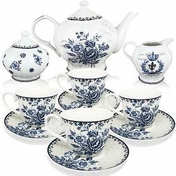 BTäT - Tea Set, China Tea Set, Tea Service, Tea Cups , Crea