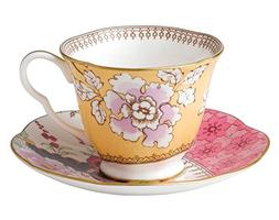 Wedgwood - Harlequin Butterfly Bloom - Cup & Saucer Floral B