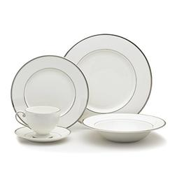 cameo platinum dinnerware set