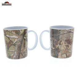 Camo Mugs Drink Coffee Tea Cup Set Realtree ~ New