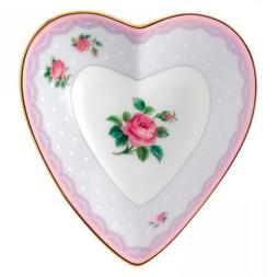 "Royal Albert Candy Heart Tray, 5.1"", Love Lilac"