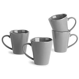 LE TAUCI Ceramic Coffee Mug set - 10 Ounce for Coffee, Tea,
