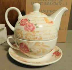 Ceramic Stackable Tea Set