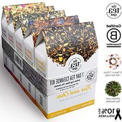 THE TEA SPOT, 7-Day Tea Cleanse Kit | 35 pyramid tea bags |