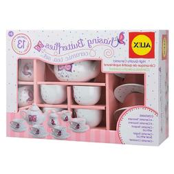 ALEX Toys Chasing Butterflies Ceramic Tea Set FREE SHIPPING